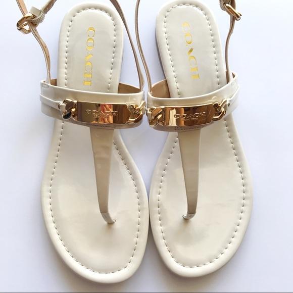 7c1e2fdb859b Coach Shoes - NWOT Coach sandals nude